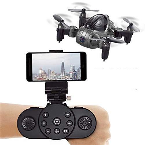 QAIYXM Mini składany dron RC, wifi Quadcopter wideo HD w czasie rzeczywistym, wbudowany system pozycjonowania GPS, automatyczny zwrot, tryb bez głowy dla dzieci i początkujących