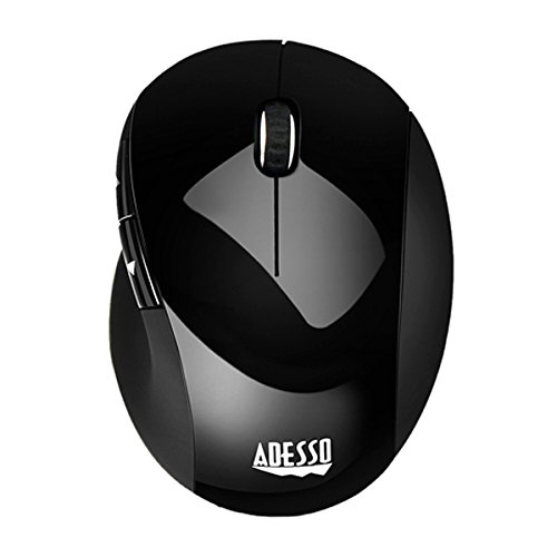 Adesso Adesso 2.4ghz Rf Wireless Vertical Ergonomic Optical Mouse Back Forth