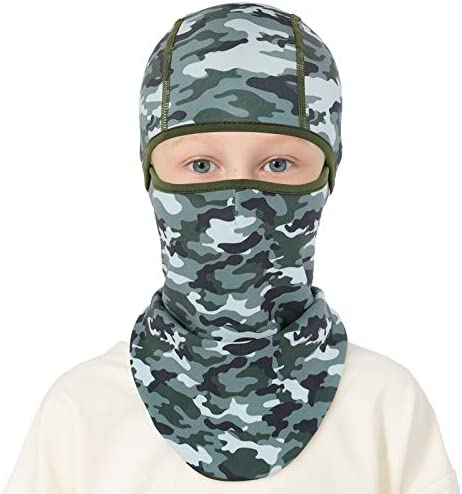 Kids Balaclava Windproof Ski Mask Winter Face Warmer for Cold Weather Boys Girls product image