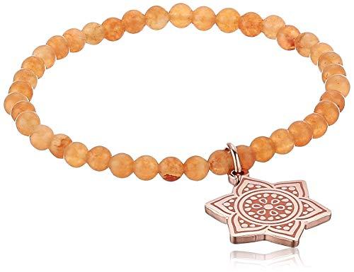 Alex and Ani Chakra Stretch Bracelet Rose Gold/Sacral Chakra One Size