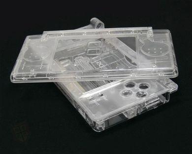 SATKIT Carcasa Recambio para Nintendo DS Lite (TRANSPARENTE)