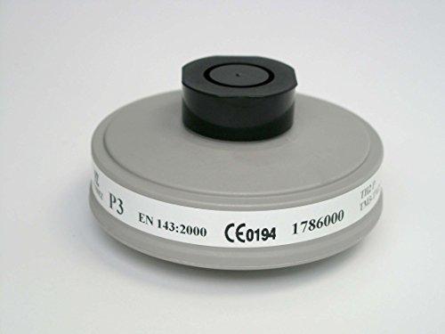Honeywell Safety 1786000 - Filtro antipolvere a vite EN DIN 148-1, 5 pezzi
