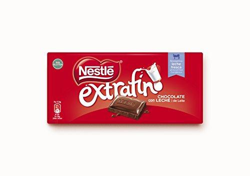 NESTLE chocolate con leche extrafino tableta 125 gr