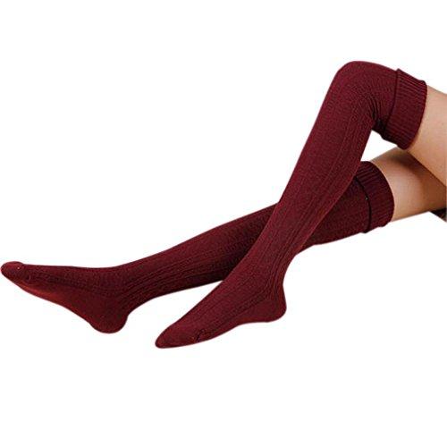GJPQ Extra-warm Fleece Thermal Foot Indoor Slipper Socks Winter,Non-Slip Comfortable Heavy Fleece Lined Christmas Stockings