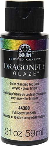 FolkArt Dragonfly Glaze Multi Surface Paint Full Spectrum 2 Fl Oz product image