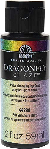 FolkArt Dragonfly Glaze Multi-Surface Paint, Full Spectrum 2 Fl Oz