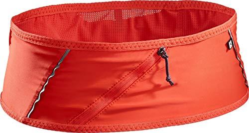 Salomon Pulse Belt Riñonera de hidratación, Práctica y cómoda, SoftFlask 500ml incluida, Unisex Adulto, Rojo (Fiery Red), XS