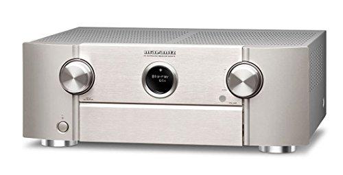 Marantz SR6012 9.2 AV Receiver 4K WiFi Bluetooth, HEOS-Multiroom - silber/gold