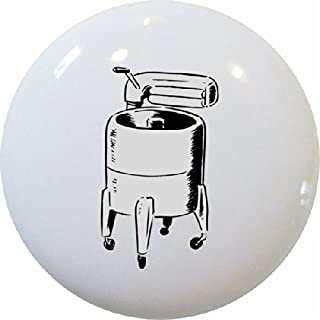 Carolina Hardware and Decor 1908 Wringer Washing Machine Laundry Ceramic Cabinet Drawer Knob