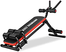 IDEER LIFE Core&Abdominal Trainers Abdominal Workout Machine,Whole Body Workout Equipment for Leg,Thighs,Buttocks,Rodeo,Sit-up Exercise Home Ab Trainer w/ 3 Levels,LCD Display. (Black 09051)