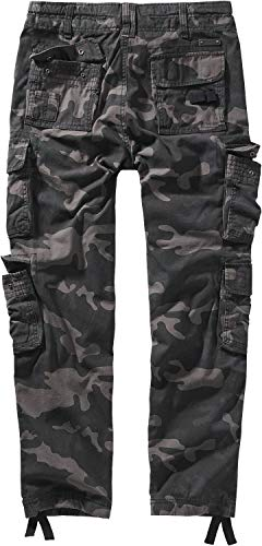 Brandit Pure Vintage Trouser II Männer Cargohose darkcamo XXL 100% Baumwolle Basics