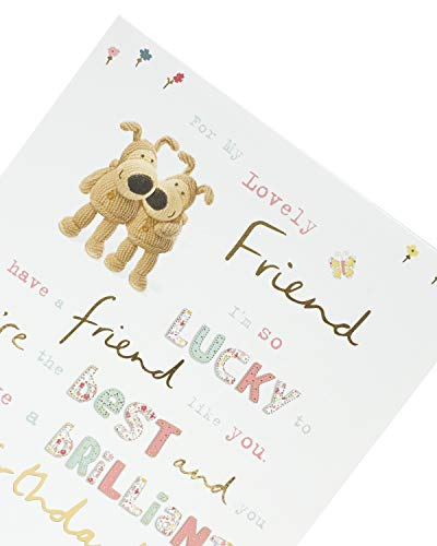 Friend Birthday Card - Birthday Card for Her - Special Friend Birthday Card - Cute Boofle Design