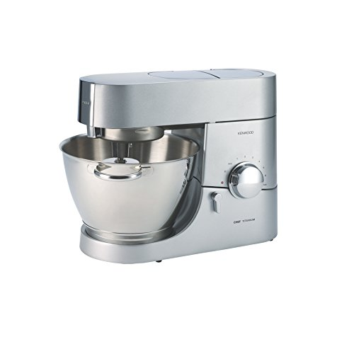 Kenwood KMC011 Chef Stand Mixer Kitchen Machine, Silver