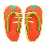 KESYOO Zapatillas de Playa para Mujer Chanclas Sandalias de Playa Casual Zanahoria Zapatilla en Form...