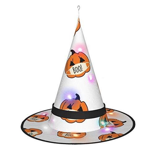 leyhjai Decoraciones de Halloween Sombrero de Bruja,...