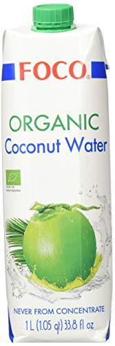 FOCO Bio Kokosnusswasser, pur, 6er Pack (6 x 1 l)