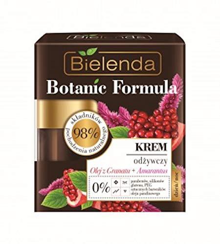 Bielenda BOTANIC FORMULA Crema facial nutritiva aceite de granada y amaranto, 50...