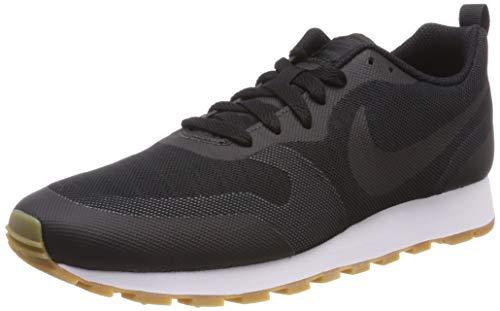 Nike Herren MD RUNNER 2 19 Laufschuhe, Schwarz (Black/Black/Anthracite/Gum Light Brown 001), 44.5 EU