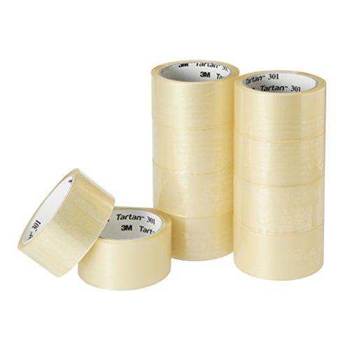3M タータン ガムテープ 梱包テープ 48mm×49m 10巻パック 301T-4849-10R