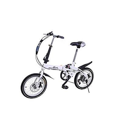 Riscko Wonduu Bicicleta Plegable Super Bike Bep-32 Blanco