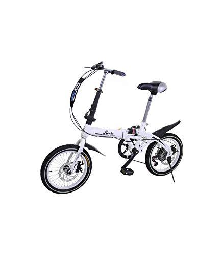 Super Bike Vélo pliant unisexe de 16' (40,6 cm)