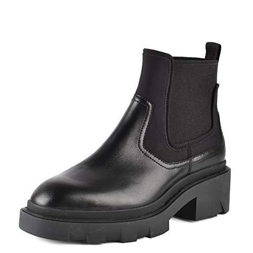 ASH Metro Chelsea-Stiefel aus schwarzem Leder 40 Black.