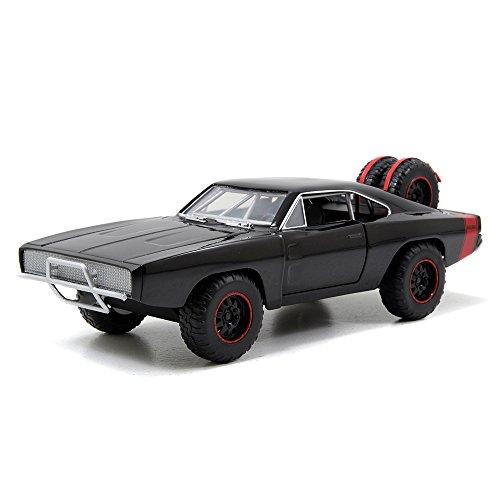 Jada Toys - 97038bk - Véhicule Miniature - Modèle À L'échelle - Dodge Charger R/t Off Road - Fast and Furious 7 - Echelle 1/24