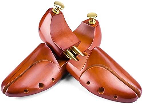 QWEEF Camillas para árboles Camillas Zapatillas Zapato Mujer Zapato Camilla Camilla Hombre Madera portátil Zapato para Zapatilla de Deporte de Tacones Altos (Color : Brown, Tamaño : 4242 2/3)