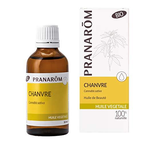 Pranarôm - Chanvre Bio (Eco) - Huile Végétale - NATURELLEMENT Nourrissante - 50 ml