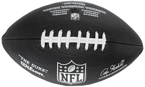 Wilson NFL Replica 4PK American Football-Set, Schwarz/Blau/Rot