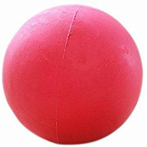 Demarkt Ball Gummiball für Hunde Hundespielball 5cm Rot