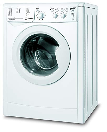Indesit IWCN 61051X9 Lavatrice a Carica Frontale, 6 Kg, 5 Programmi, A+, Bianco