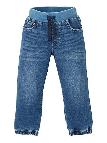 Wrangler Authentics Kids Toddler Boy's Knit Denim Pull On Jean, Vegas Medium, 4T