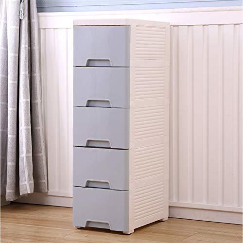 Feixunfan Tallboy Ladekast, opbergkast voor slaapkamer, badkamer, hoge kast, 25 x 40 x 84 cm, voor de badkamer thuis