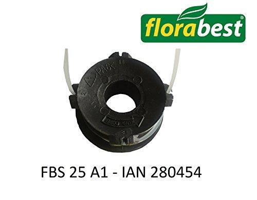 Bobine de rechange pour LIDL FLORABEST coupe-bordure thermique à essence BL FBS 25 A1 – IAN 280454