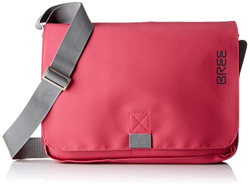 BREE Collection Unisex-Erwachsene Punch 62, Shoulder Bag S19 Schultertasche, Pink (Jazzy), 8x24x34 cm