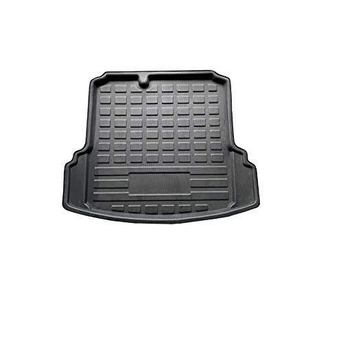 PMPIYI Auto-Heck-Kofferraum-Cargo-Liner-Tablett-Kofferraum-Gepäck-Boden-Matte-Teppichblock für VW Jetta Sedan 4-DR MK6 2011-2014 2015 2016 2017 2018 2018