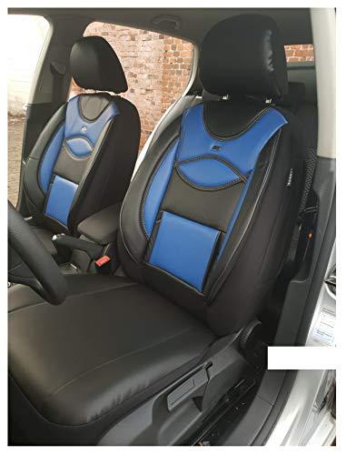 Fundas de asiento compatibles con Audi A3 8L, conductor y pasajero a partir de 1996 – 2003, número de color: D106.