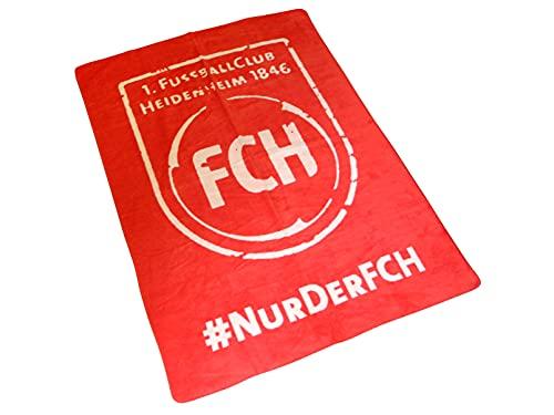 1. FC Heidenheim 1846 Wohndecke (rot)   FCH618rot