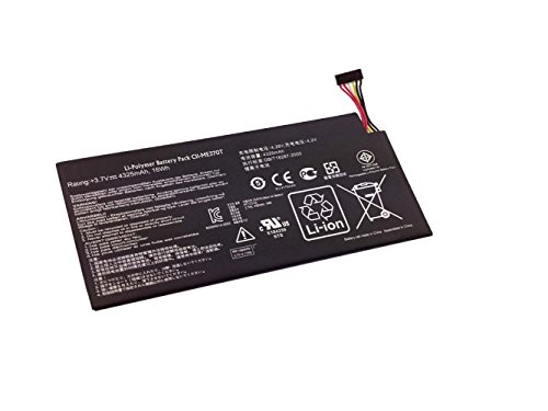 """Powerforlaptop Tablet Battery for Google Asus Nexus 7"""" (2012) (1st gen 2012) 8G,16G,32G 0B200-00120500 C11-ME370T ME370T ME3PNJ3 Wi-Fi 0B200-M - 00120100-A1A1A"""