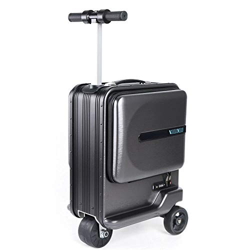 Great Deal! LYNICESHOP 22 Electric Suitcase Cycling Suitcase Riding Suitcase Carry On Luggage Set, ...