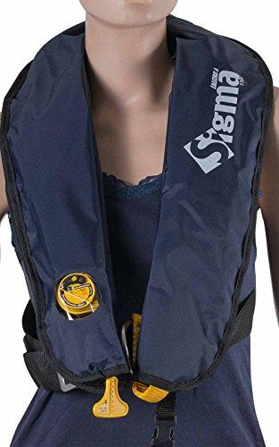 wellenshop Rettungsweste Lalizas Sigma 170N manuelle & automatische Auslösung ab 40kg