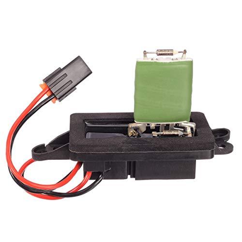 PartsSquare 89019088 HVAC Front Blower Motor Resistor RU571 JA1582 Compatible with Escalade 2002-2006 Compatible with Silverado 1500 2500 3500 Sierra 1500 2500 3500