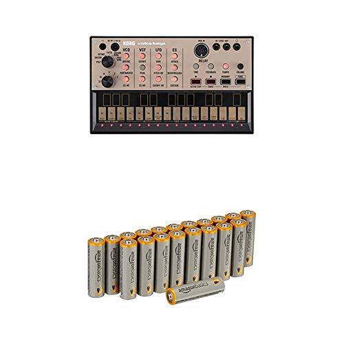 KORG Volca-Keys Synthétiseur de boucle analogique Polyphonie 3 notes avec les batteries Amazon...