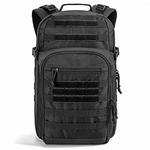 SHARKMOUTH Tactical Backpack, Large Army 3 day Assault Pack Bag Rucksack, 42L Military MOLLE Backpacks