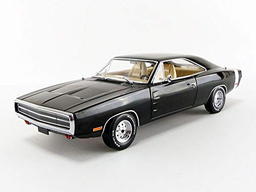 Greenlight 1:18 Artisan Collection Supernatural (2005-Aktuelle TV-Serie) -1970 Dodge Charger (19046), schwarz