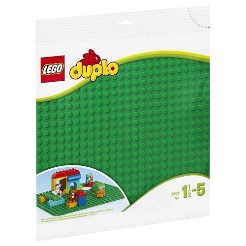 LEGO Duplo 2304 Große Bauplatte Kreatives Vorschulspielzeug, grün
