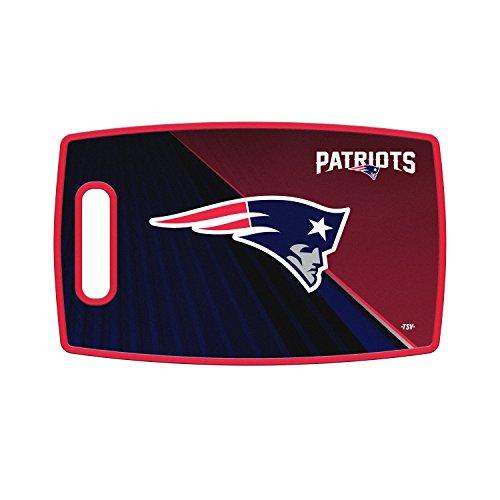 Sports Vault NFL New England Patriots Large Cutting Board, 14.5