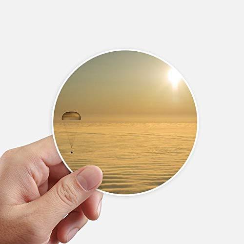 DIYthinker GoldEd Bright Sun Autocollants Ballon Cloud Se 10CM Mur Valise pour Ordinateur Portable Motobike Decal 8Pcs diamètre 10Cm Multicolor