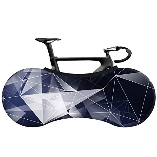 LHYAN Indoor Mountain Bike Cover Bicycle Storage Cover Wheel Protective Gear Tire Package,A